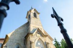 Église luthérienne évangélique Image libre de droits