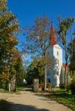 Église luthérienne Photos stock