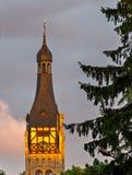 Église luthérienne dans Dubulti, Jurmala, Lettonie Photo libre de droits