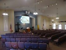 Église luthérienne et école maternelle de Messie chez Eagle Creek photos libres de droits
