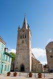Église médiévale Photographie stock libre de droits
