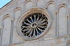 Église médiévale Photo libre de droits