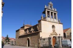 Église médiévale d'Astorga photographie stock libre de droits