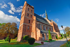 Église médiévale de Fara dans Swiecie Photos stock