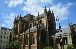 Église majestueuse photo stock