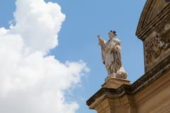 Église Malte de Zurrieq Photos stock