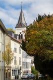 Église, mauvais Soden, Allemagne Photos libres de droits