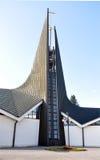 Église moderne, Breclav, République Tchèque, l'Europe photo stock