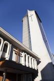 Église moderne chez Temuco. Photographie stock libre de droits