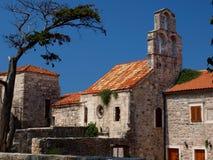 église Monténégro de budva vieux Photo libre de droits
