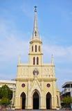 Église néogothique chrétienne Image libre de droits