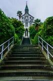 Église Nagasaki d'Oura Images stock