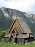 Église norvégienne de barre Images stock