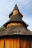 Église norvégienne de barre Images libres de droits