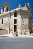 Église notre dame des victoires valletta Malte Photos libres de droits