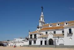Église Nuestra Senora del RociÂo en Andalousie, Espagne images stock