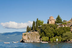 Église Ohrid de St Johns Images stock