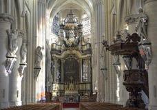 Église Onze-Lieve-Vrouw-au-dessus-De-Dijlekerk Image stock