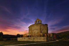 Église orange Images libres de droits