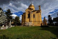 Église orthodoxe à Belgrade, Serbie Photographie stock libre de droits