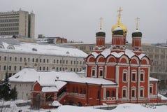 Église orthodoxe à Moscou Photographie stock libre de droits