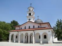 Église orthodoxe blanche photo stock