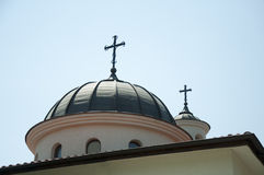 Église orthodoxe blanche image stock