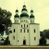 Église orthodoxe dans Chernigiv, Ukraine photographie stock