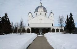 Église orthodoxe dans le Canada Image stock