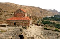 Église orthodoxe dans Uplistsikhe Image stock