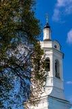 Église orthodoxe de l'intervention de la mère de Dieu dans la ville de Kaluga en Russie centrale Photos stock