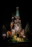 Église orthodoxe de la Finlande Images libres de droits