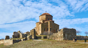 Église orthodoxe de mtskheta de la Géorgie Image libre de droits