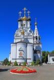 Église orthodoxe de Vera, de Nadezhda, de Lyubov et de mère de leur Sofia Images stock