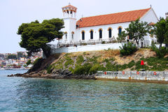 Église orthodoxe en Grèce Image libre de droits