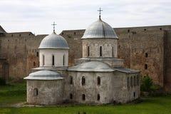 Église orthodoxe en Russie Photographie stock