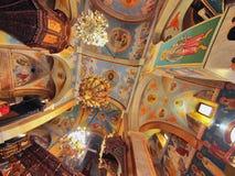 Église orthodoxe grecque de l'annonce, Nazareth Images stock