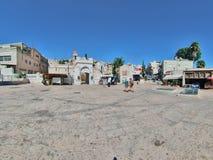 Église orthodoxe grecque de l'annonce, Nazareth Image stock