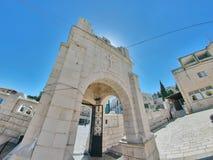 Église orthodoxe grecque de l'annonce, Nazareth Photographie stock libre de droits