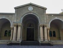 Église orthodoxe grecque de trinité sainte en Colombie, la Caroline du Sud Images stock