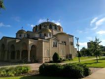 Église orthodoxe grecque de trinité sainte en Colombie, la Caroline du Sud Image libre de droits