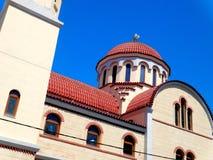 Église orthodoxe grecque, Grèce, Crète, Rethymno Images libres de droits