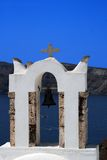 Église orthodoxe grecque - Santorini, Grèce Photo stock