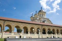 Église orthodoxe, iulia alba, la Transylvanie images libres de droits