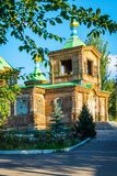 Église orthodoxe, Karakol, Kirghizistan photo libre de droits