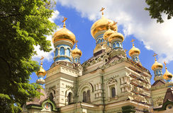 Église orthodoxe, Kiev Photo stock
