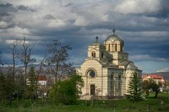 Église orthodoxe Kosovo photographie stock