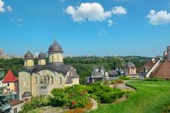 Église orthodoxe, le secteur de Pechersk de Kiev Photographie stock