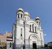 Église orthodoxe moderne à Moscou, Russie Photo stock
