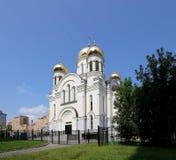 Église orthodoxe moderne à Moscou, Russie Image libre de droits